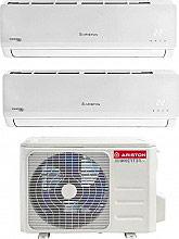 Ariston PRIOS25UI+PRIOS25UI+DUAL50XD0-0 Climatizzatore Dual Split Inverter 9+9 Btu PRIOS R32 DUAL 2x2550XD0