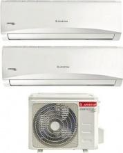 Ariston 2xPRIOS R32 DUAL 35UD0-I+50XD0-O Climatizzatore Dual Split Inverter 12+12 Btu 2xPRIOS R32 DUAL 3550XD0-O