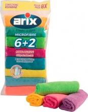 Arix 28605 Set 8 Panni multiuso multipack 30x30 cm