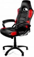 Arozzi ENZO-RD Sedia Gaming Schienale Regolabile Poltrona con Braccioli Rosso Enzo Rosso