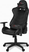 Arozzi MEZZO-V2-BLACK Sedia Gaming Altezza Regolabile Poltrona con Braccioli Nero Mezzo V2