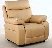 Arredare No Problem Poltrona Relax Reclinabile Eco Pelle 93x100x104 h 8053 Dubai