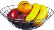 Artex 292045 Cestello portafrutta & pane 32 cm Kitchen cromo lucido