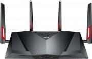 Asus 90IG02W1-BM3G10 Modem Router Wifi ADSL Dual Band con Parental Control - DSL-AC88U AC3100