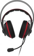 Asus 90YH01VR-B8UA00 Cuffie Gaming 7.1 con Microfono Driver 53 mm Rosso