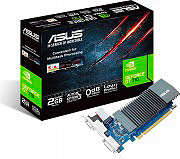 Asus 90YV0AL1-M0NA00 Scheda Video 2 GB GDDR5 Full HD 64 bit Pci-E HDMI DVI-D VGA GeForce GT 710