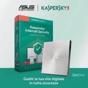 Asus W08U9191H Masterizzatore Esterno USB Wirefire + Antivirus Zendrive+IS Kaspersky Lab