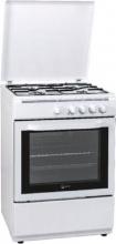 Atlantic ATGC66E Cucina a gas con forno a gas 4 Fuochi 60x60 cm colore Bianco