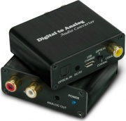 Atlantis A04-DAC-02 Land convertitore audio Nero