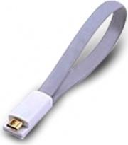 Atlantis P019-UMC-GY-0.2 Cavo USB 0,2 m USB A Micro-USB B Grigio