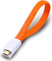 Atlantis P019-UMC-OG-0.2 Cavo USB 0,2 m USB A Micro-USB B Arancione