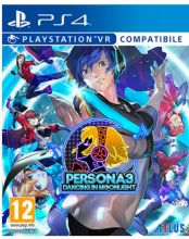 Atlus 1029061 Persona 3 Dancing Moon Night-Day Party 12+ PS4