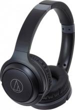 Audio Technica ATH-S200BTBK Cuffia Bluetooth Pieghevole Senza Fili Nero