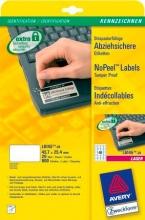 Avery L6145-20 Etichette AntiManomissionesione 45 7 x 25 4