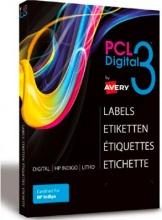 Avery PCL3-2551SPET Etichette Sra3 51x25mm Po 100 Fogli