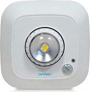 Avidsen Lampada da Interno Rilevamento crepuscolare Sensore di Movimento 103615