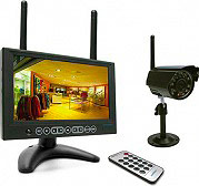 Avidsen Videosorveglianza Wireless IP KIT Monitor+Telecamera+SD 123410