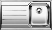 BLANCO 1612662 Lavello Cucina Incasso 1 Vasca Gocciolatoio Sx 86 cm Acciaio Median 45 S