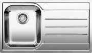 BLANCO 1612663 Lavello Cucina Incasso 1 Vasca Gocciolatoio Dx 86 cm Acciaio Median 45 S