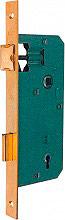 Bonaiti 48040030MC Serratura con piastra rettangolare Entrata 30 mm bronzato