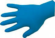 BOXER LINE 390017 (TG.M) Guanti lavoro lattice Professionali taglia M 100 pz Astm Blu 390017