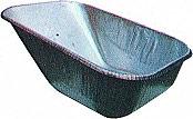 B.P.A. CIT6B Vasca per carriola da Saldare in acciaio lucido capacità 75 litri