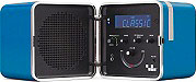 BRIONVEGA Radio portatile digitale FM 9W Bluetooth Orologio RADIO.CUBO TS522D+BL