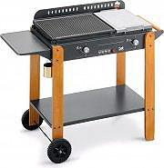 BST Barbecue Gas da Giardino Piastra Pietra Ollare Ghisa Saint Tropez - 580