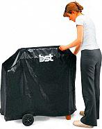 BST 681011 Telo copri barbecue Custodia Universale 110x50x87H cm  D11