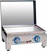BST 764 Barbecue a gas Metano GPL Barbecue da tavolo Acciaio 6.4kW 54x42x23 cm