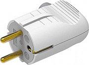 BTICINO S2020DE Spina volante da cavo orientabile 2P+T 16A 220-250 V Bianco
