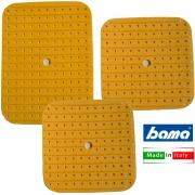 Bama BM10332 Tappeto Lavello Soft Set 3 Pezzi Giallo