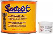 Bandini Sintolit Mastice Stucco solido per marmo colore Paglierino 750 ml