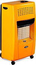 Bartolini 406 Stufa a Gas GPL Infrarossi Portatile Max 4200W Bella I Color