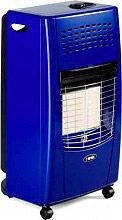 Bartolini 408 Stufa a Gas GPL Infrarossi Portatile Max 4200W Bella I Color