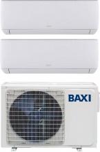 Baxi JSGNW2020 + LSGT40-2M Climatizzatore Dual Split Inverter 7+7 Btu Condizionatore LSGT40-2M Astra