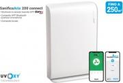 Beghelli 26702 Purificatore dAria per Ambienti fino a 200 mq Bluetooth Bianco