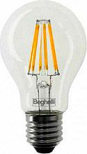 Beghelli Lampadina LED E27 basso consumo 7W Luce bianco caldo Zafiro 56402