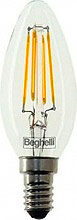 Beghelli 56406 Lampadina LED E14 basso consumo 2W Luce bianco caldo Zafiro