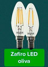 Beghelli Lampadina LED risparmio energetico E14 Luce Bianco caldo Zafiro 56407