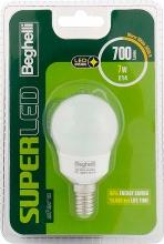 Beghelli 56892BL Lampadina LED E14 7W Luce Bianco Caldo Classe A+