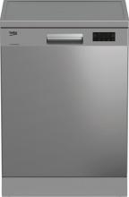 Beko DFN16425X Lavastoviglie libera installazione 14 Coperti E 60 cm Inox