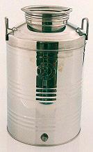 Belvivere 10CPA0050 Contenitore per Alimenti in Acciaio inox Capacità 50 litri
