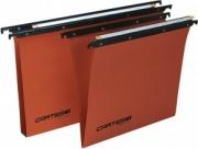 Bertesi 100380B2 Confezione 50 Cartelline Sospese Cartesio Int.38 V