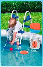 Bestway Allarme accesso piscina sicurezza bambini sensore 58207 Pool Alarm