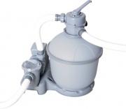 Bestway Pompa Filtro a Sabbia Piscina Silica 7571 lth 300 Watt - 58315