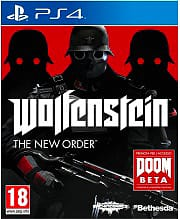 Bethesda Wolfenstein: The New Order, PS4 Playstation 4 Lingua Italiano PS4-WONO