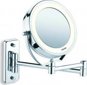 Beurer BS 59 Specchio LED Bagno Trucco Diametro 11 cm colore Acciaio