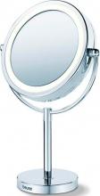 Beurer BS 69 Specchio LED Bagno Trucco Diametro 17 cm colore Acciaio