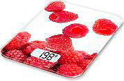 Beurer KS19 BERRY Bilancia Cucina Digitale Elettronica Peso Max 5Kg Vetro Berry KS19